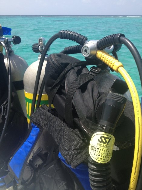 Surface interval after diving Turneffe Elbow, Belize.
